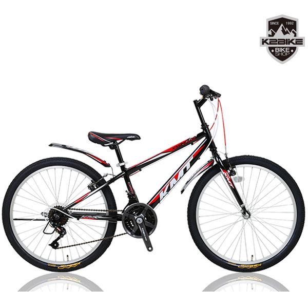 K2BIKE 2020 학생용 24인치 KMT24GS 21단 MTB 자전거, 2020 K2BIKE KMT24GS 블랙+레드