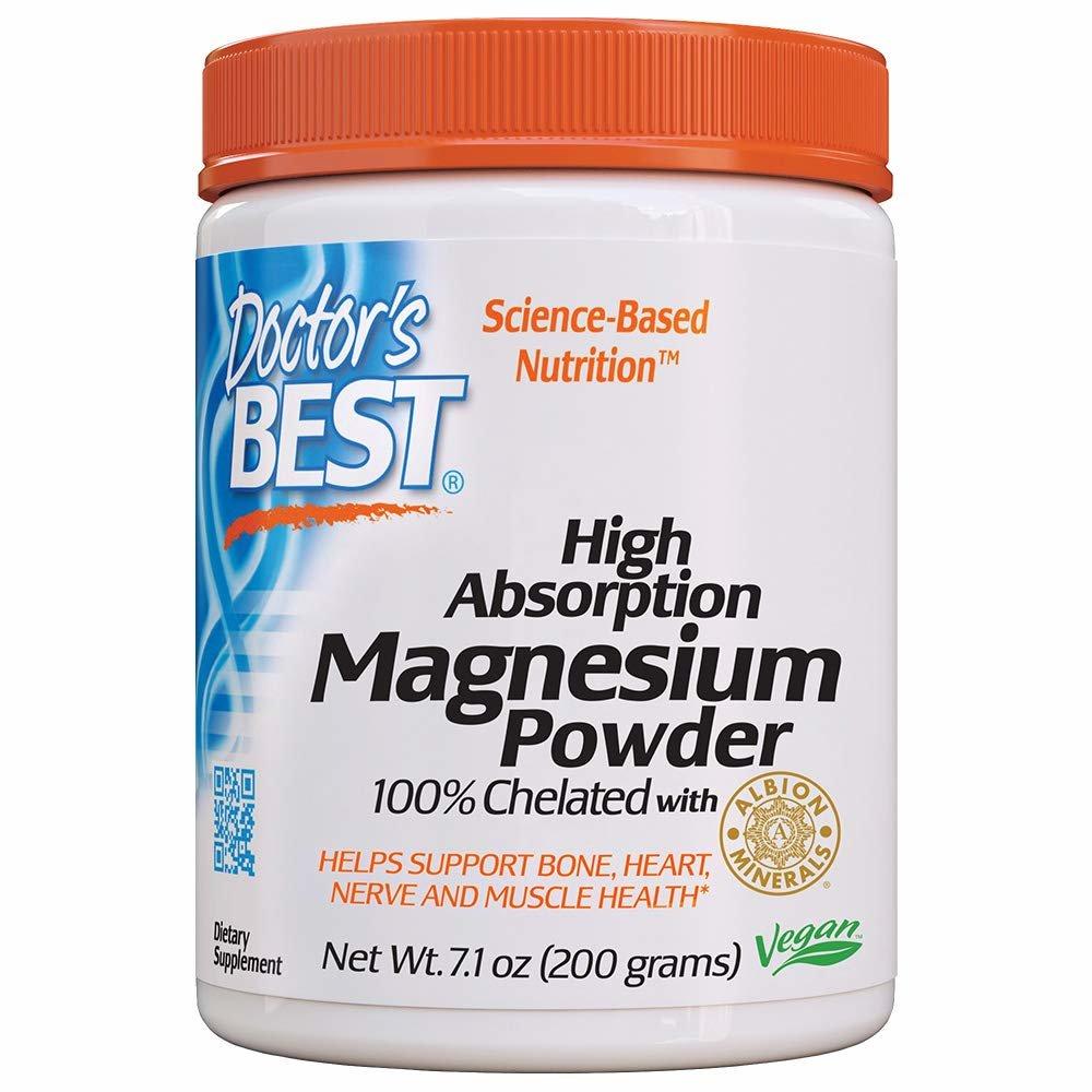 Doctors Best 고흡수성 마그네슘 파우더 200그램, 200g, 1팩