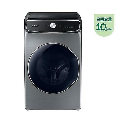 삼성전자 WV24R9930KP 드럼세탁기 플렉스워시 24.5kg 이녹스실버, 세탁기/세탁기