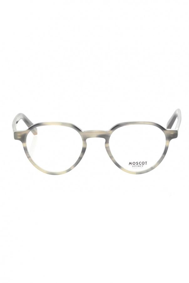 Moscot 'Les' corrective eyeglasses LES 0-0712-01 GREY TORTOISE 150불 이상 주문시 부가세 별도