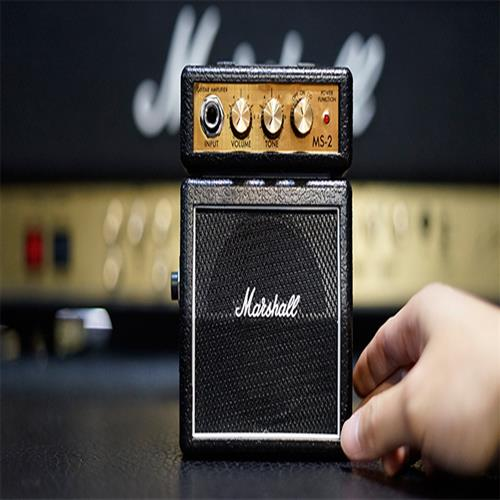 마샬 ms2 미니 기타 앰프 팜 휴대용 소형 스피커 악기 액세서리
