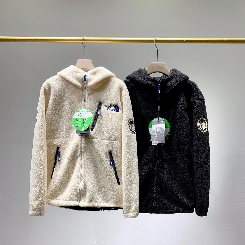 North Face 양털 뽀글이후드 집업 뽀글이후리스 플리스 기모 자켓