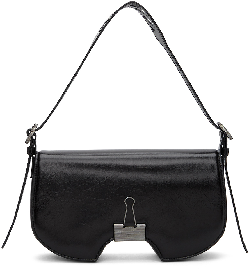 Black Swiss Flap Bag-SC5625281