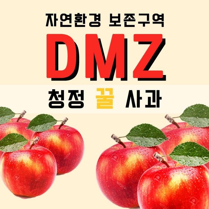 DMZ사과 10월6일 발송 아리수 신품종 못난이 황금사과, 1박스, 5KG(24~26)과