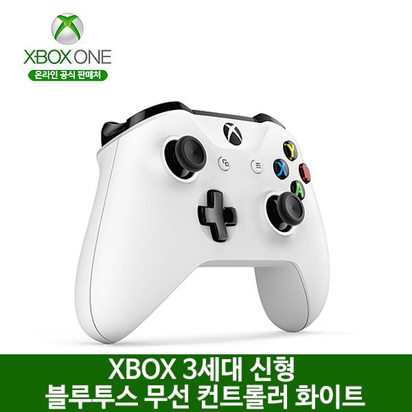 XBOX ONE S 3세대 블루투스 무선 컨트롤러 화이트, 옵션없음, 옵션없음