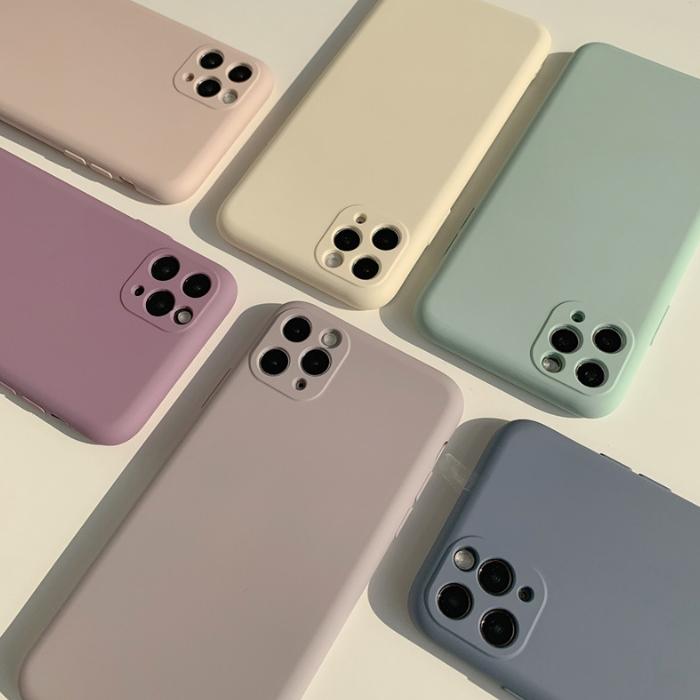 비비드 파스텔 감성 아이폰12 12프로 휴대폰 케이스