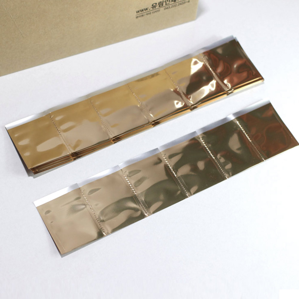 유림인쇄 약포지 약봉지 알루미늄지(소포지)금지, 500장
