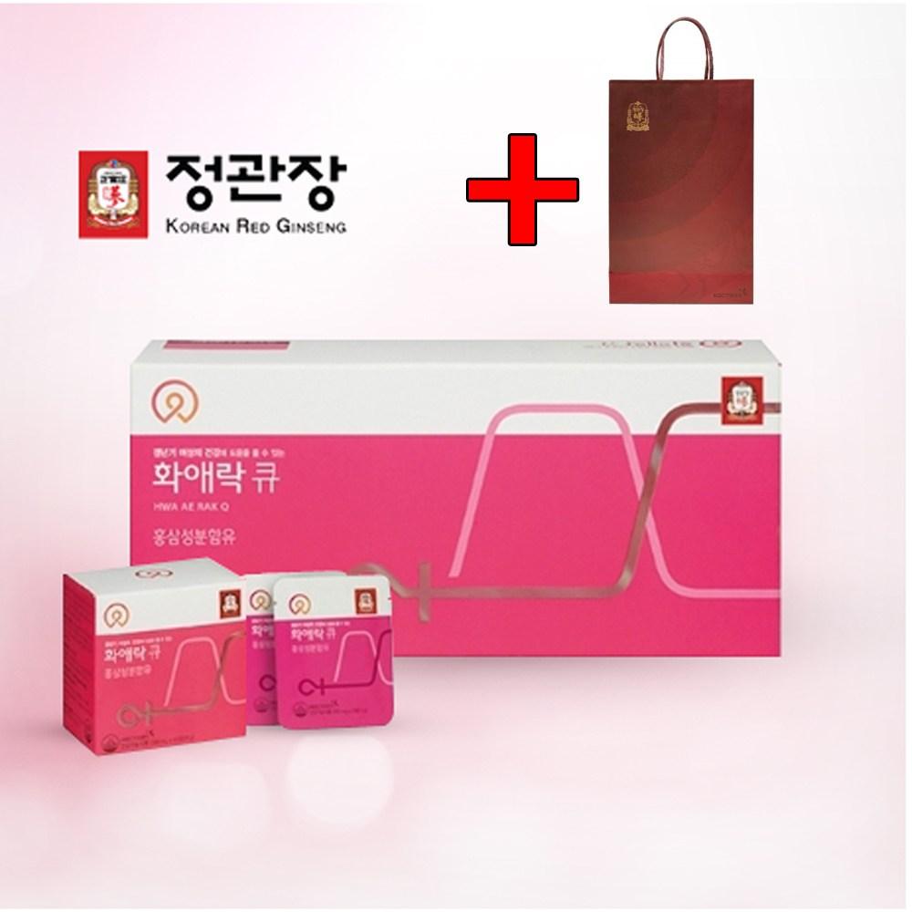 정관장 화애락큐 120정 갱년기 영양제+쇼핑백1개