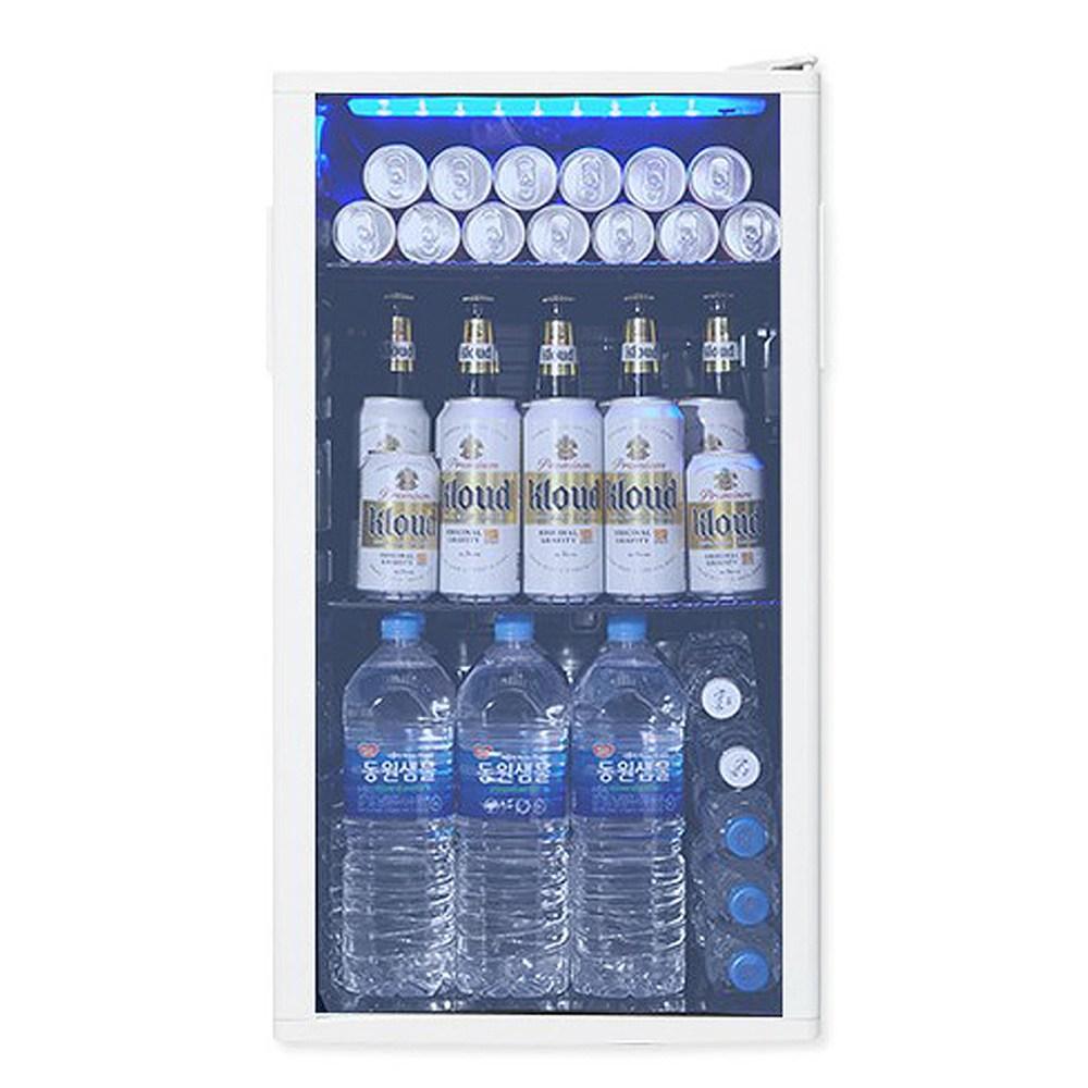 씽씽코리아 음료수냉장고 냉장쇼케이스 소형냉장고 미니냉장고 SD-92 화이트, SD-92 LED (화이트) (POP 211314755)
