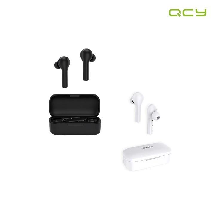 [공식판매처] QCY T5 APP 노이즈 캔슬링 블루투스 이어폰 정식수입, 화이트