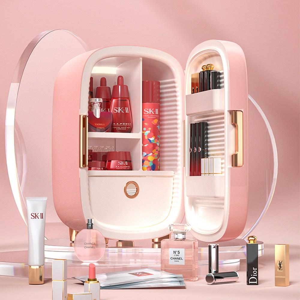 PINKTOP 화장품 냉장고, 핑크12L