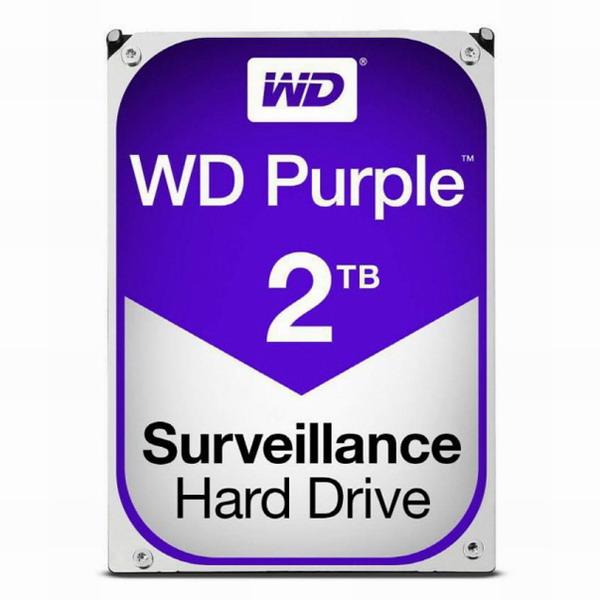 WD PURPLE (WD20PURZ) 3.5 SATA HDD (2TB), PURPLE 3.5 SATA HDD/20351, 2TB (POP 4591626561)