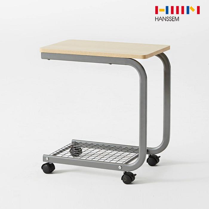 [한샘] 비앙 이동식 테이블 커브형