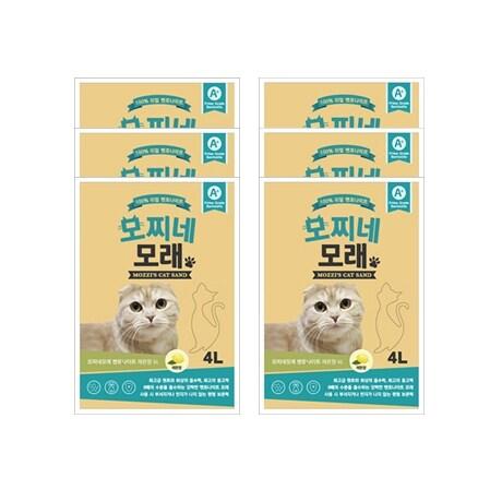 [신세계TV쇼핑][모찌네모래] 4L 레몬향 (1BOX) 무배, 상세정보참조, 상세정보참조