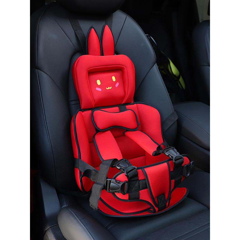 뉴타임즈8 부스터카시트 어린이 안전시트 간이 휴대용차량용 영아 자동차 포장용 키높이 쿠션 QH26 A10, 09