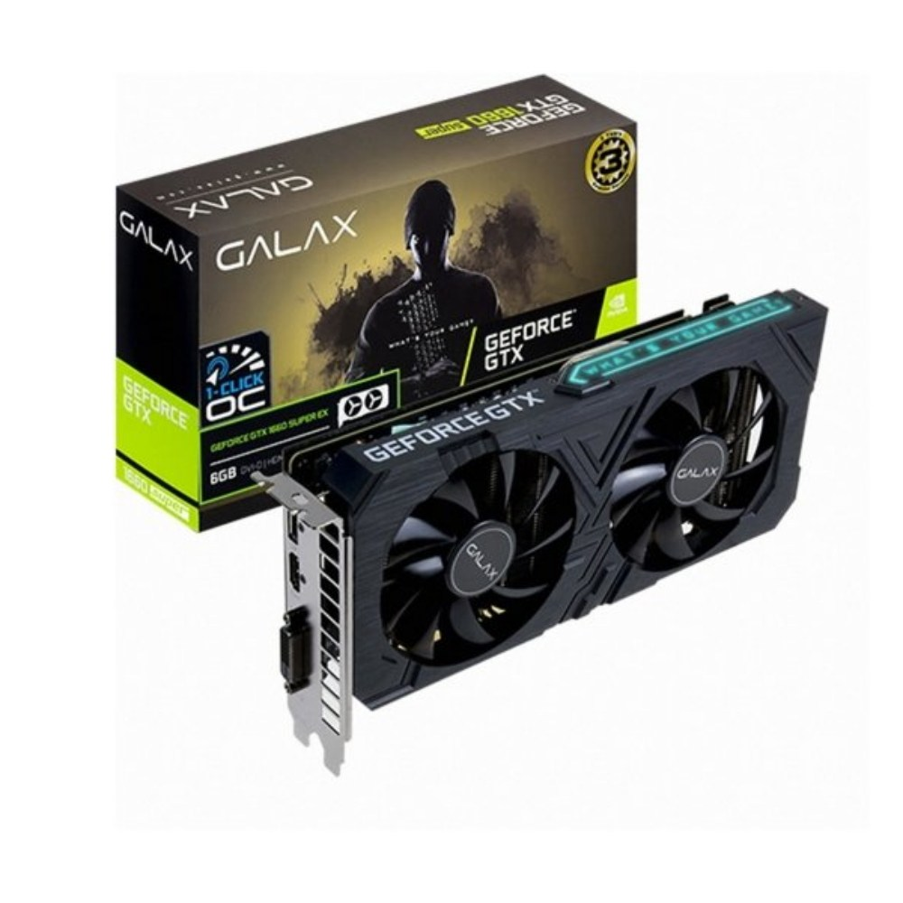 갤럭시 지포스 GTX1660 SUPER EX BLACK OC D6 6GB(이어폰 행사중), GTX1660 SUPER EX BLACK OC D6 6GB