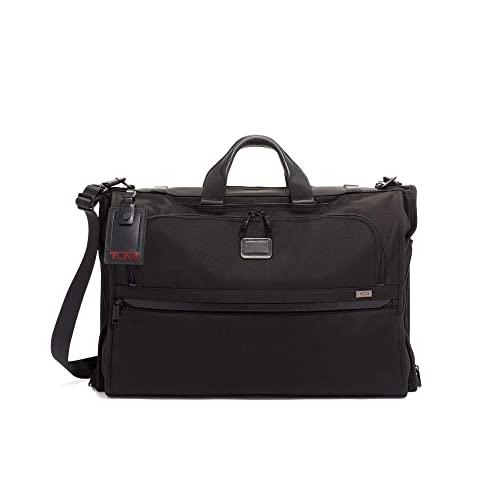 EOM -Alpha 3 Garment Bag Trifold Carry-On Luggage-남성용 및 여성용 드레스 또는 수트 백-블랙 - E063307M84Q2580