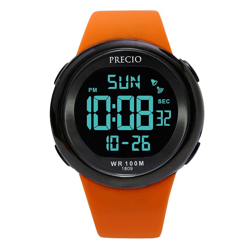 프레시오 군인 군용 방수 스포츠 남자전자손목시계