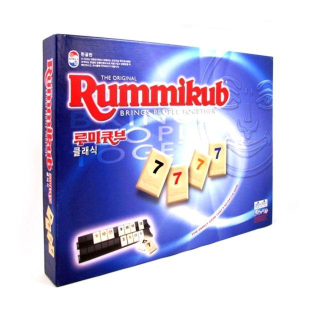 BUBU 루미큐브 클래식 전략보드게임 어린이보드게임