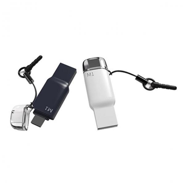 FORLG)OTGUSB메모리M1화이트16G 전자기기 저장장치 USB 메모리 외장하드, 본상품 선택