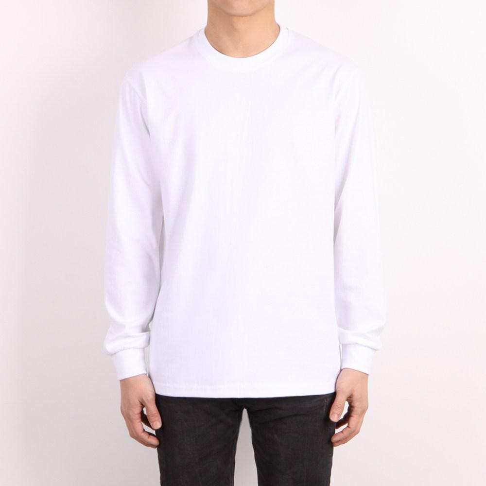 스타토리 20수 라운드 긴팔 무지 기본 티셔츠 면티 남녀공용 단체티 S-3XL