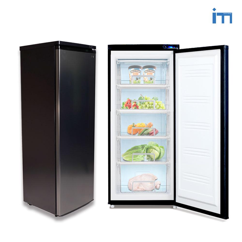 아이엠 서랍형냉동고 BD-152L 5단 다목적냉동고 스탠드형 냉동고, BD-152L블랙