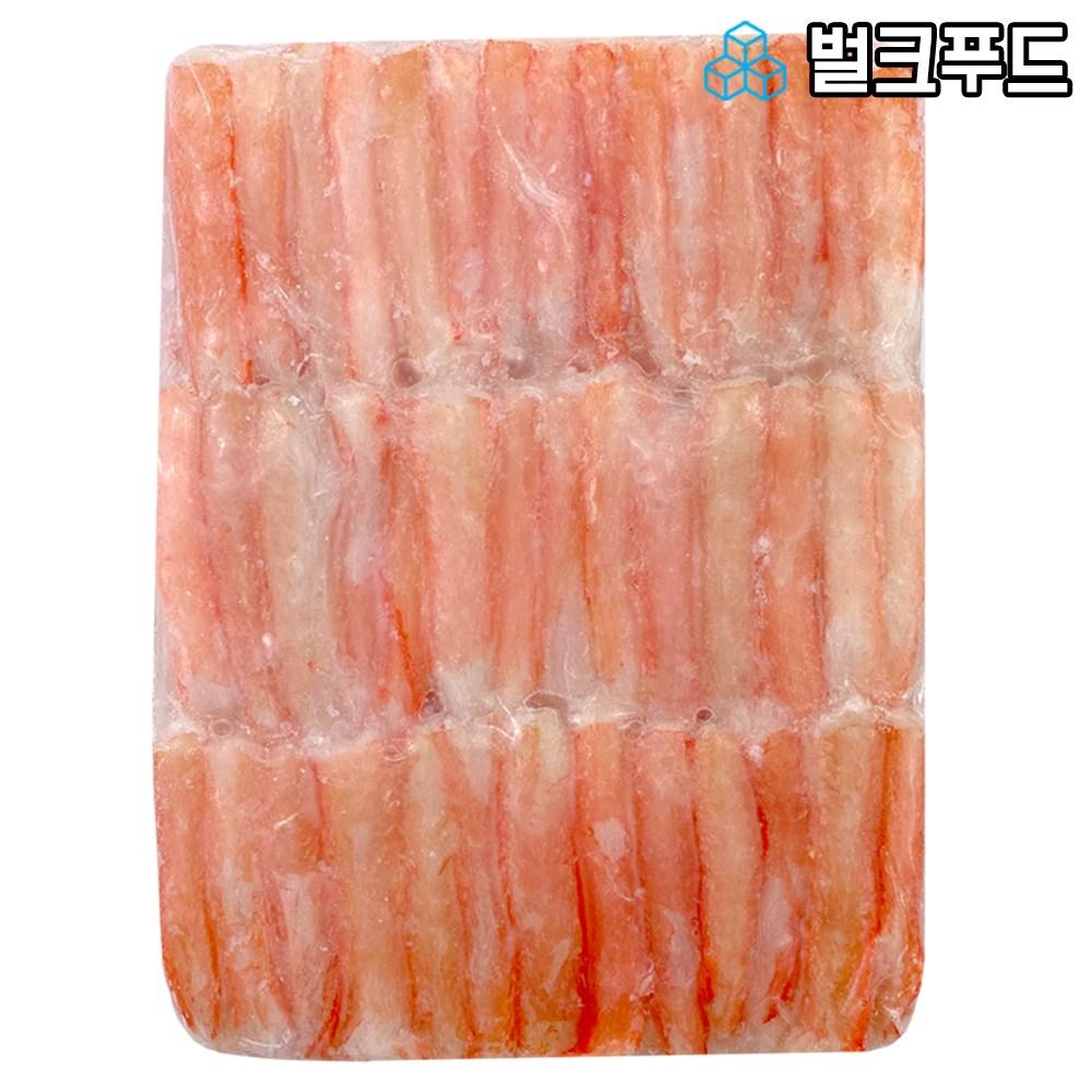 벌크푸드 붉은대게살 홍게살, 1개, 3단혼합살, 700g