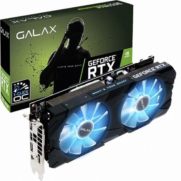 라온하우스 [Galaxy] GeForce RTX 2060 SUPER EX BLACK OC D6 8GB 그래픽카드, 584487