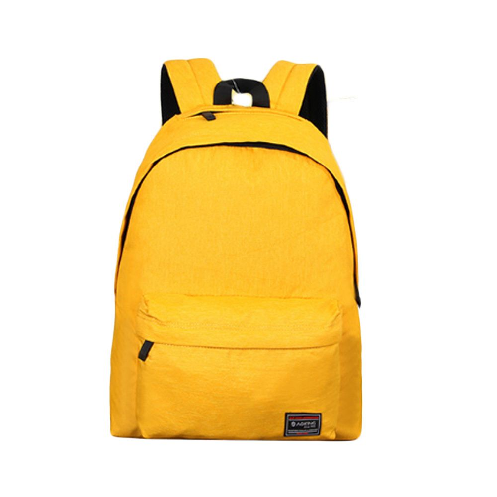 ksw78735 데일리 스쿨 백팩 패션 학생 책가방 가방 옐로우