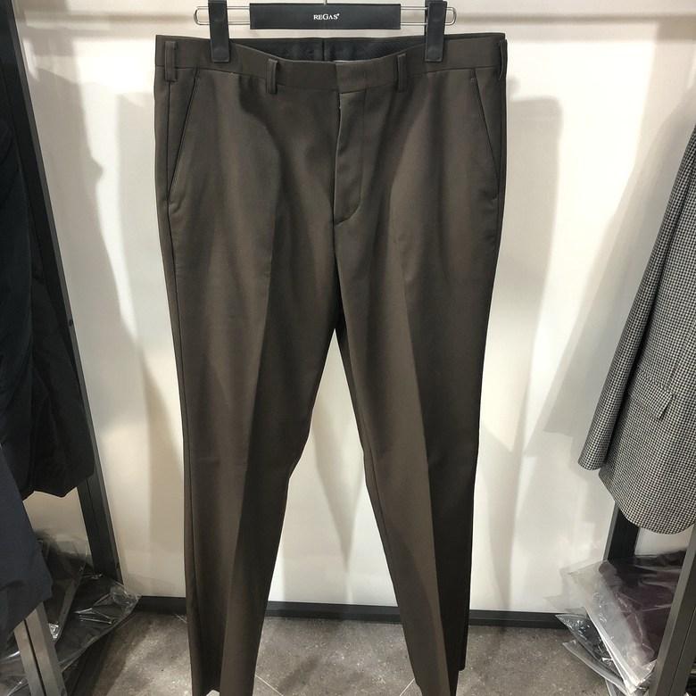 [행복한백화점][보스렌자]남성 기본라인 겨울용 정장팬츠 슬랙스 다크브라운 RDFPA7574