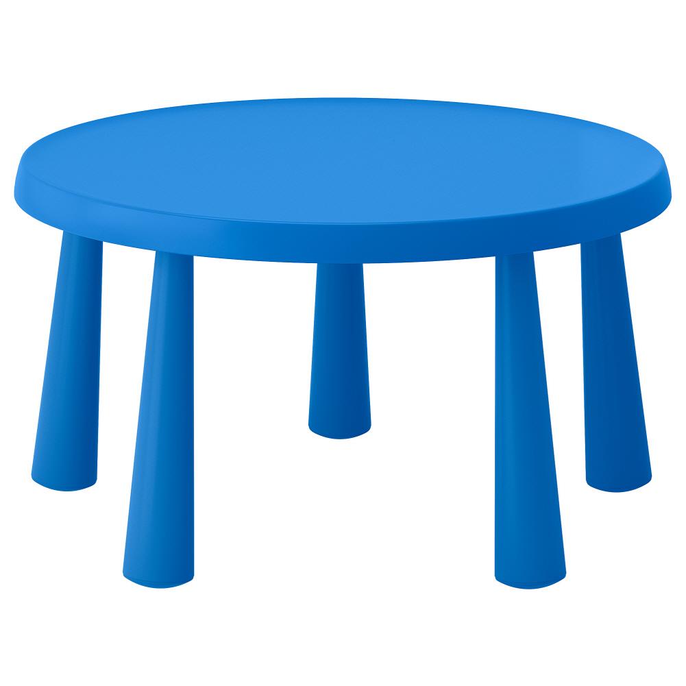 어린이테이블 실내외겸용 블루 맘무트 85 cm, 기본