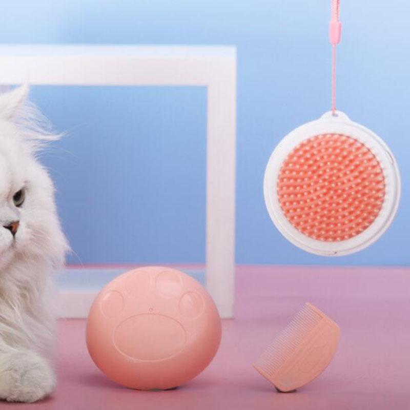 Leading 애완동물 브러쉬 가정용 휴대용 죽은 털제거 XF0223, 핑크