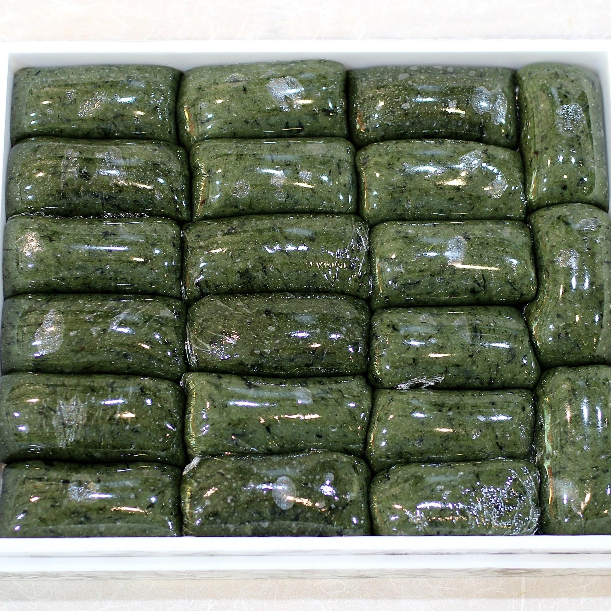 [약손떡방] 식대용 쑥현미 인절미, 1box, 2.4kg