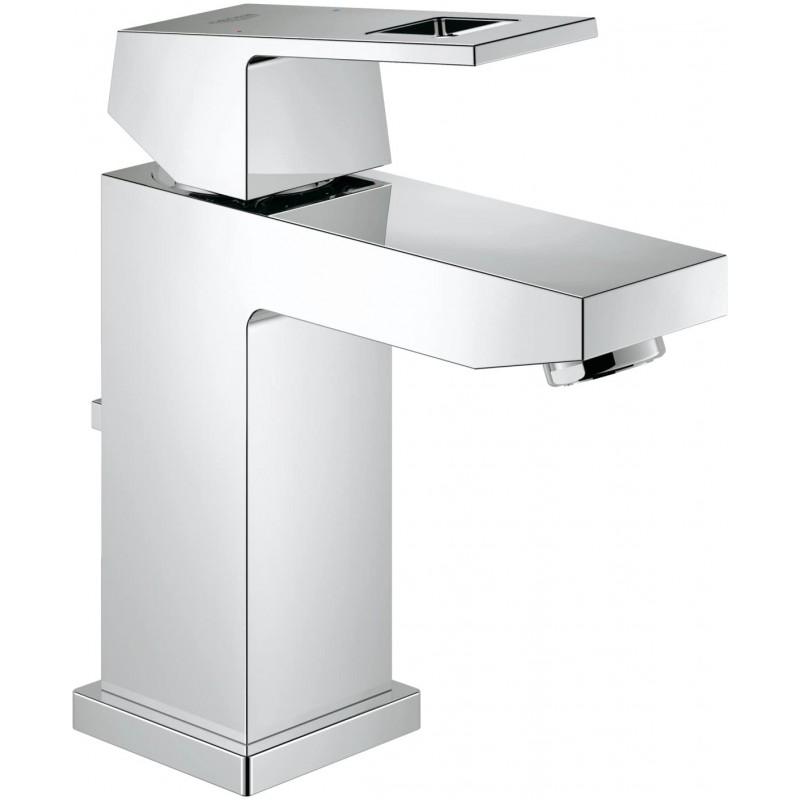 Eurocube Centerset 싱글 핸들 싱글 홀 욕실 수전-1.5 GPM, 1