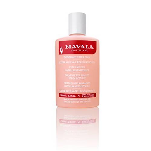 Mavala Extra Mild Nail Polish Remover 3.3Fl oz, 상세내용참조