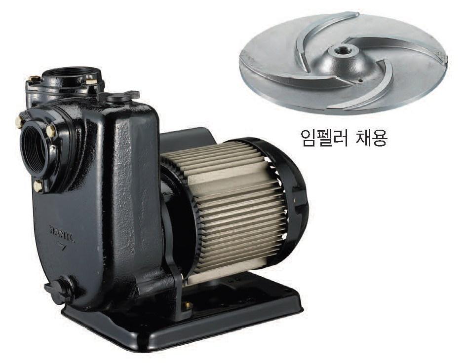 PA-630SS 비자동 단상 220V 4/5마력 농업용 공업용 배수 집수정 소형 산업 급수 빌딩 가정 한일자동펌프
