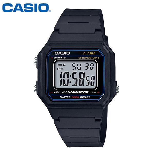 CASIO 카시오 남성 W-217H-1A 군인 군대 군용 전자 스포츠 시계