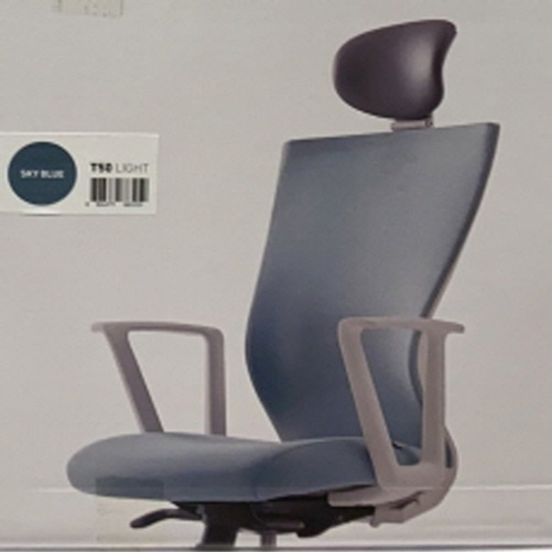 시디즈 T50 Light 사무용 오피스 의자, 스카이블루