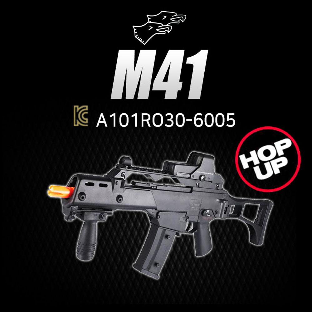 더블이글 M41 에어건 BB탄총, 1개
