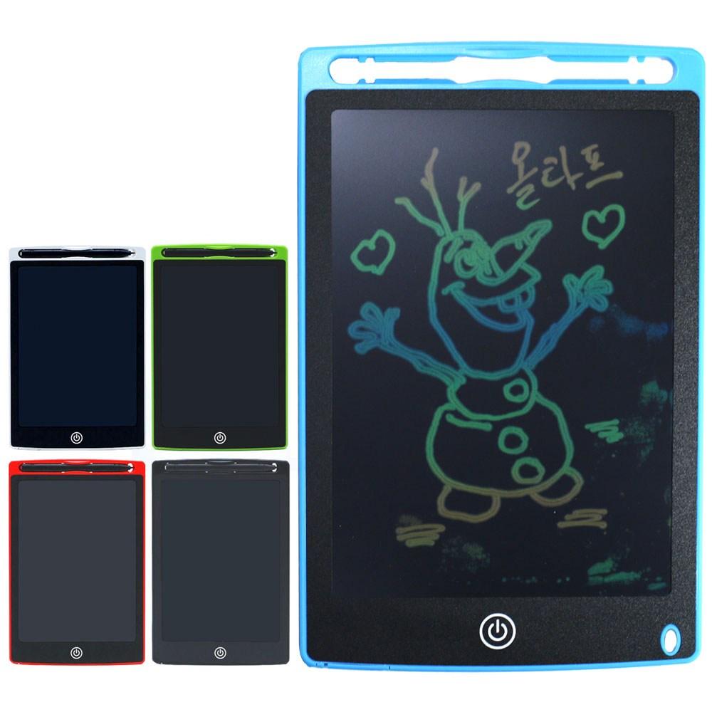 재미모리 LCD 전자 노트 패드 전자노트, 칼라형 검정