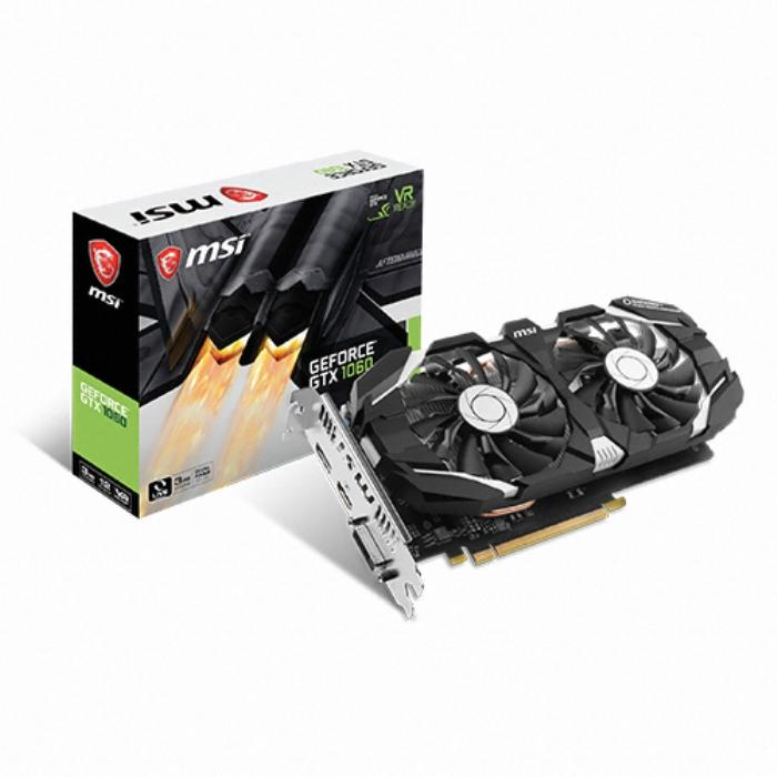 MSI 지포스 GTX1060 D5 3GB 윈드스톰, MSI 지포스 GTX1060 D5 3GB 윈드스톰/무상7개월