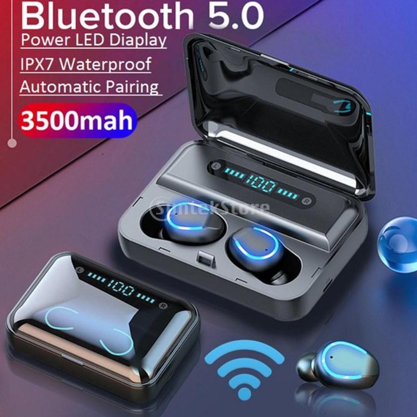 ROYALWAY F95 무선 블루투스 이어폰 TWS 스테레오 블랙 화이트