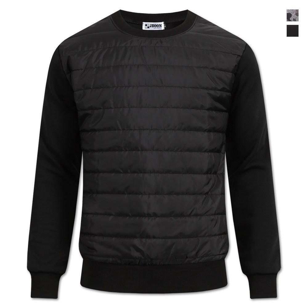 제이붐 남성용 패딩 맨투맨 티셔츠 MT04