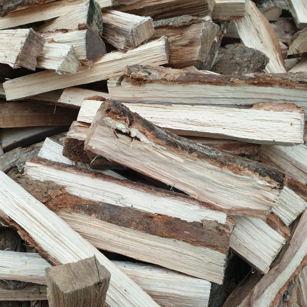 도시농부 참나무 혼합장작 20kg 땔감 캠핑장작 난로장작, 1박스