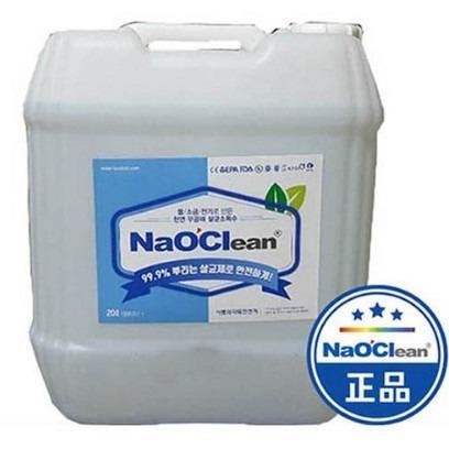 미산성차아염소산수 차아염소산나트륨 뿌리는소독제 소독약 나오크린 20L 4L 업체 가정용 대량주문할인, 1