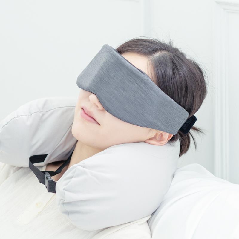 린더홀릭 잠잘오는 3D 암막 프리미엄 숙면 온열 수면안대