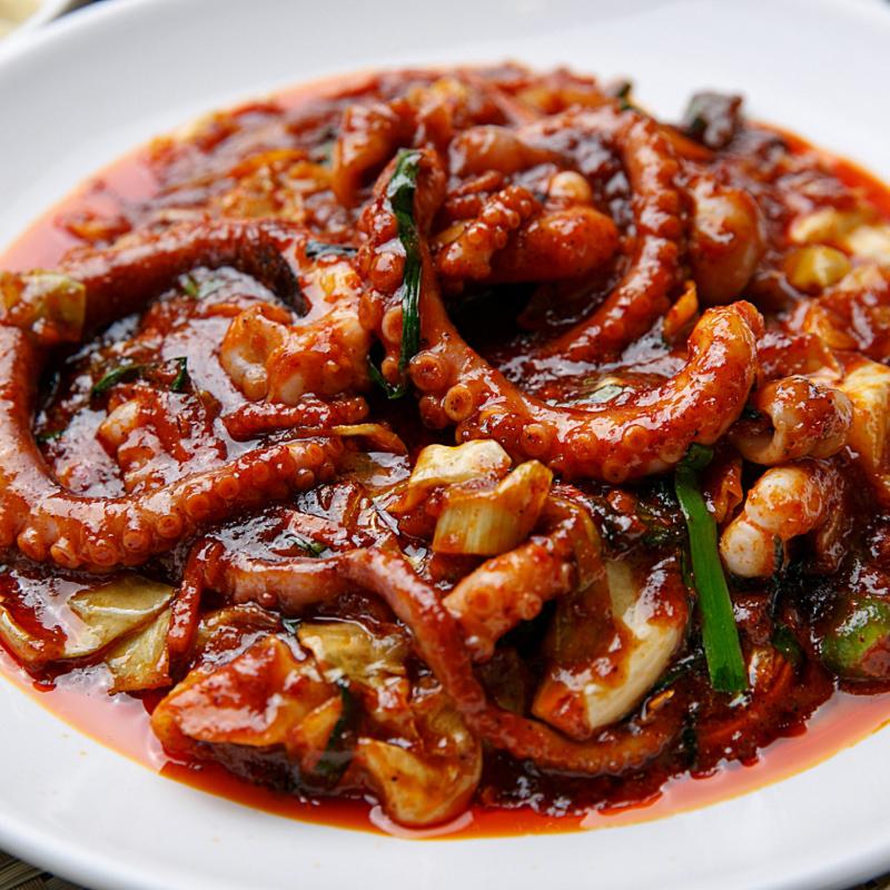 쭈꾸미볶음 낙지볶음 닭갈비 맛있게매운 간편식 볶음요리 BEST 3, 낙지볶음 2팩
