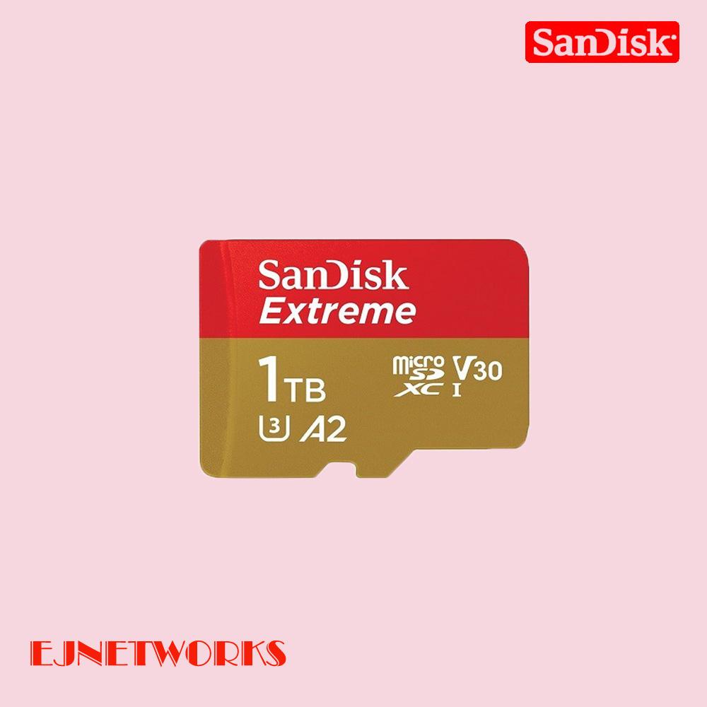 샌디스크 익스트림 마이크로 SD SQXA1 128GB 256GB 400GB, 1TB
