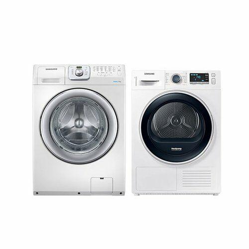 [신세계TV쇼핑][삼성] 드럼 세탁기 14Kg + 건조기 9Kg 세트 WF14F5K3AVW1+DV90R6200QW, 단일상품