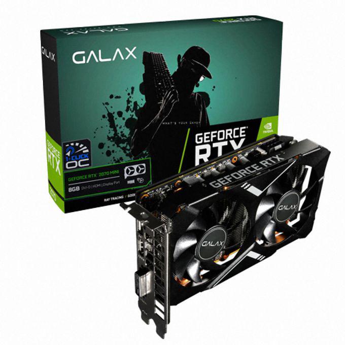 GALAX 지포스 RTX 2070 MINI OC D6 8GB gtx1660슈퍼/1660super/그랙픽카드/gtx1060/rtx2070super/rtx2060super/rx580/rx570/그래픽카드rtx2060/rx570, 단일 모델명/품번